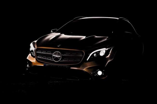 Mercedes GLA 2018 - teaser