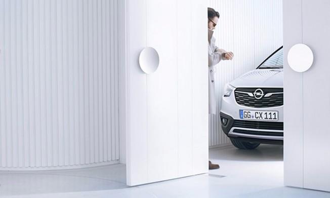 Opel Crossland X - teaser