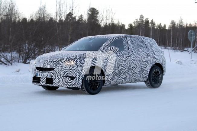 Opel Grandland X 2018 - foto espía