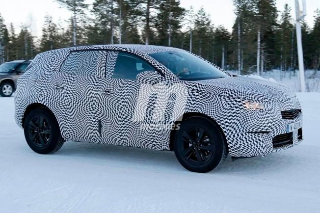 Opel Grandland X - foto espía