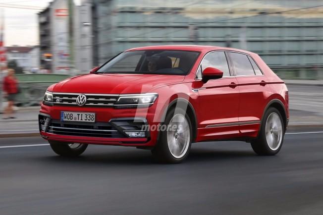 Volkswagen Tiguan Coupé - recreación