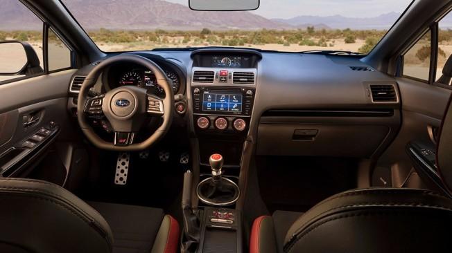 Subaru WRX STI 2018 - interior