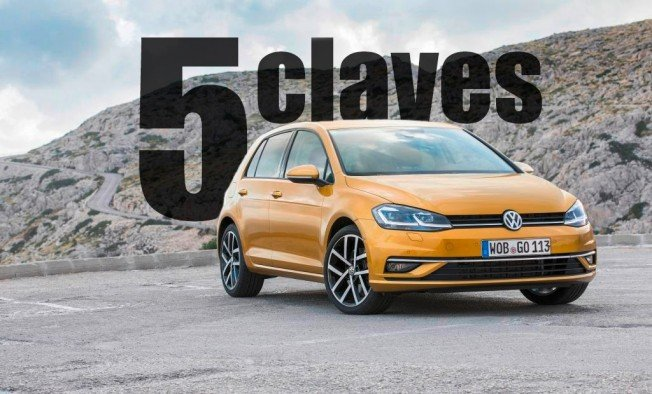 Volkswagen Golf 2017- las 5 claves