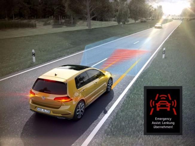 Volkswagen Golf 2017 - tecnología