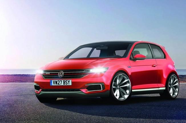 Volkswagen Golf GTI 2020 MK8 - recreación
