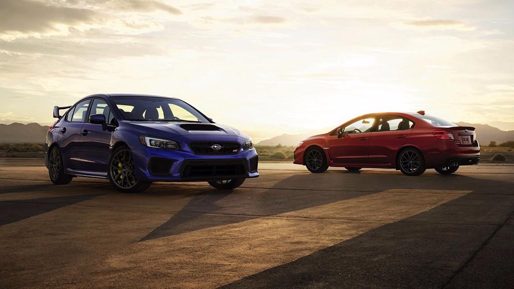 Subaru WRX y WRX STI 2018: más agresivos, confortables y seguros