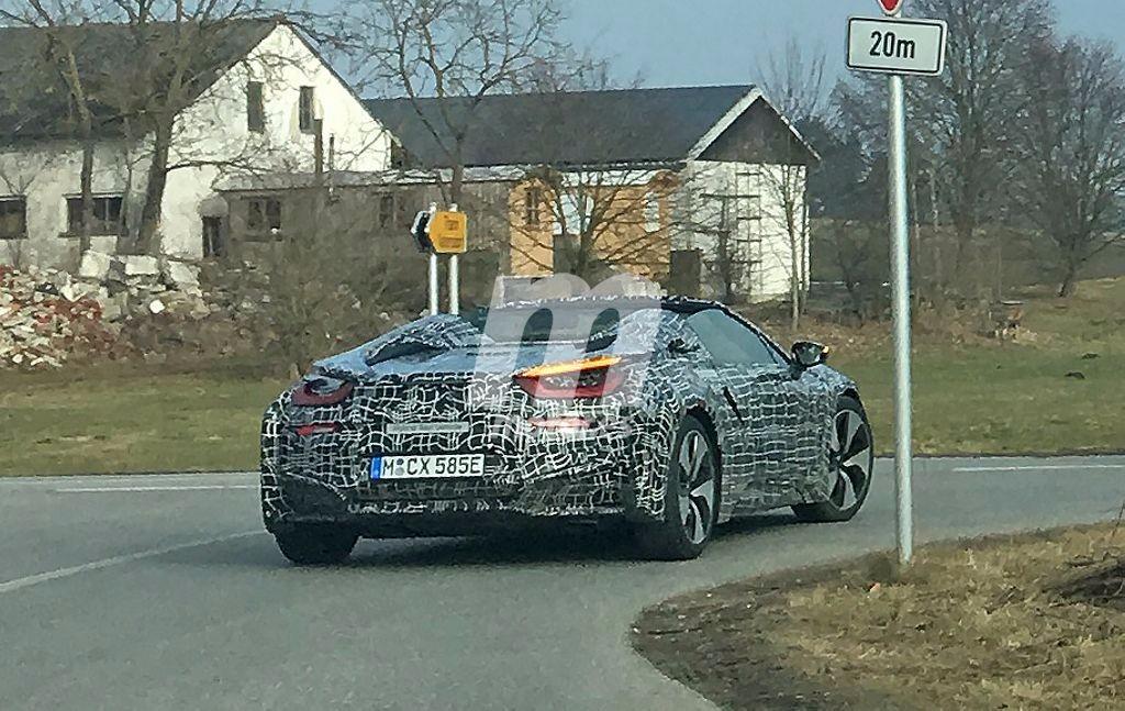 BMW i8 Spyder 2018: un primer vistazo a la esperada versión descapotable