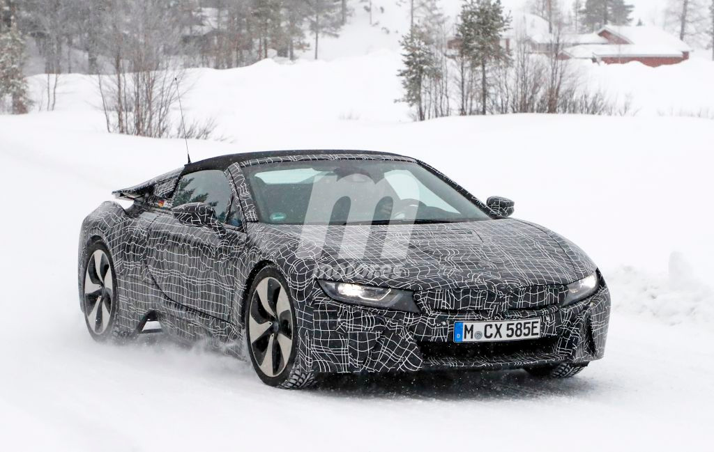 BMW i8 Spyder: rodando ya con el facelift que contará la gama i8