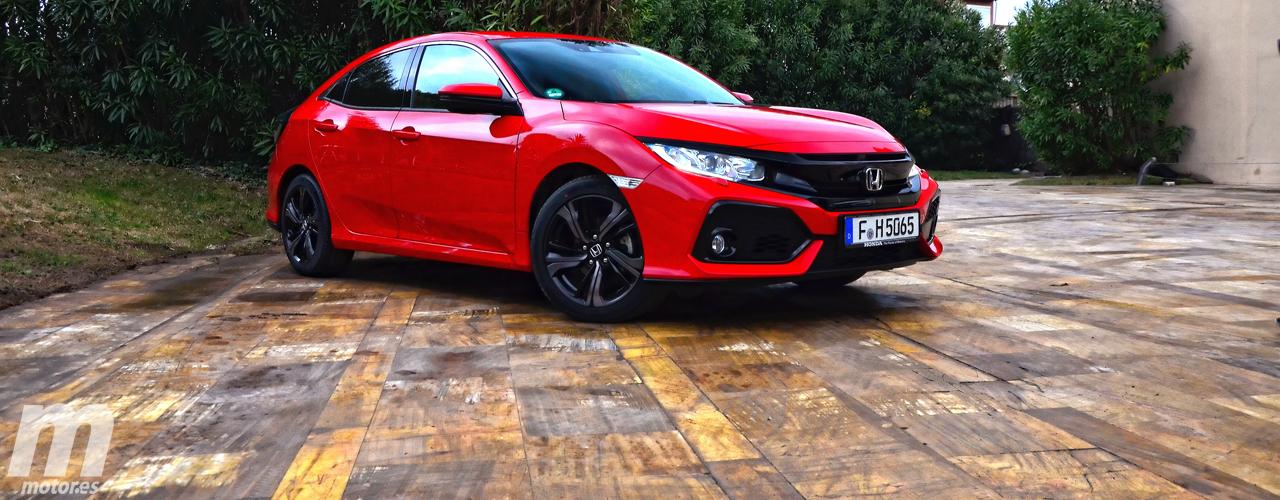 Prueba Honda Civic 5 Puertas 2017, un compacto con mucho carácter