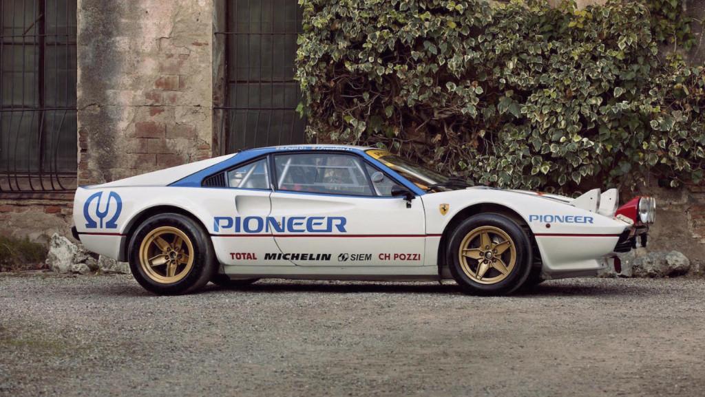 Impecable Ferrari 308 GTB Grupo 4 de rallys a subasta