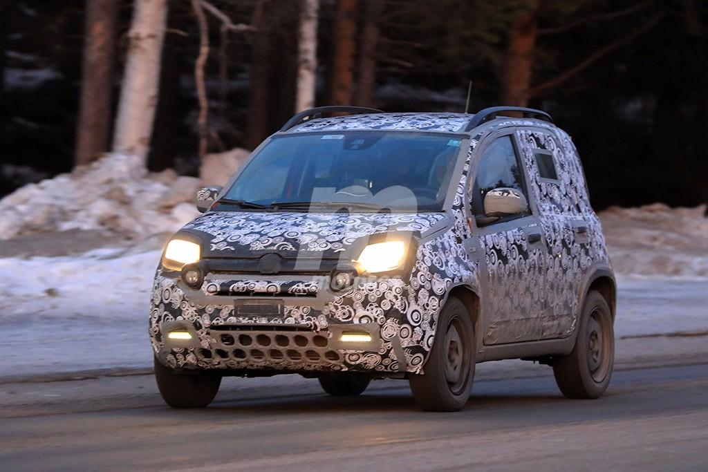 Fiat Panda Cross 2018: un vistazo al facelift de la versión más capaz del Panda
