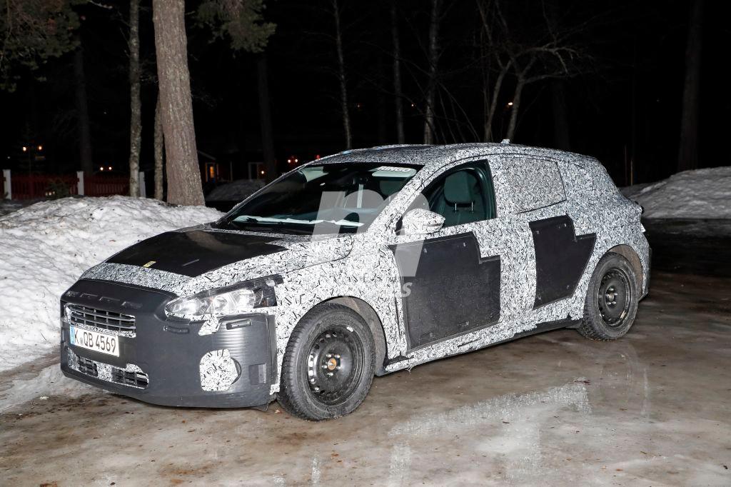Ford Focus 2018: Primeras pruebas en el Ártico de la nueva generación