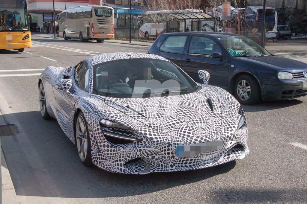 McLaren 720S 2017: nuevas fotos espía del esperado reemplazo del 650S