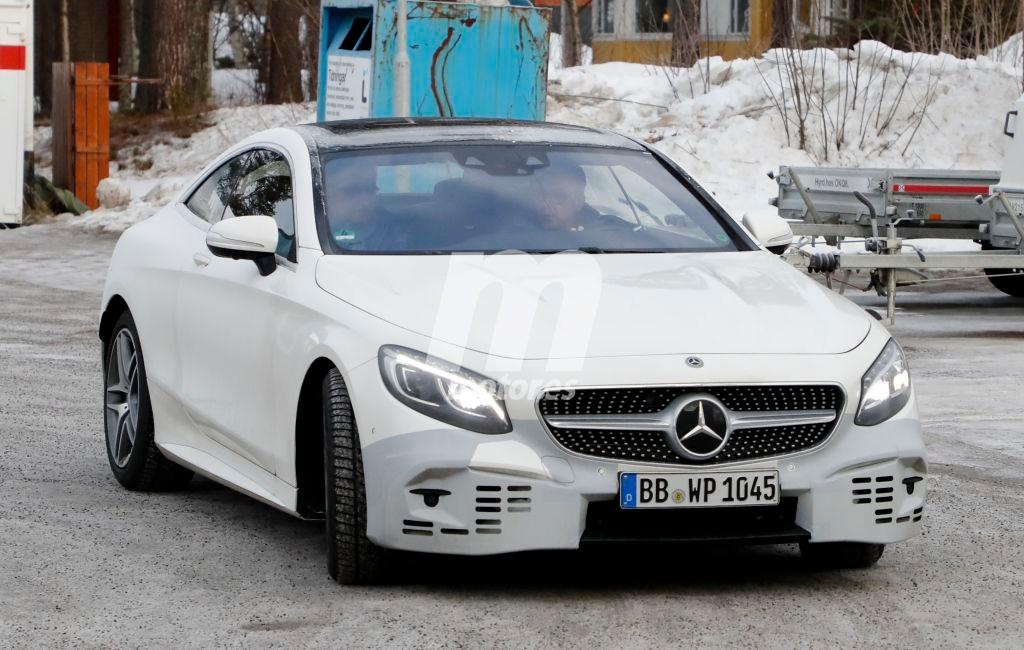 Mercedes Clase S Coupe 2017: nuevas fotos espía del coupé de lujo