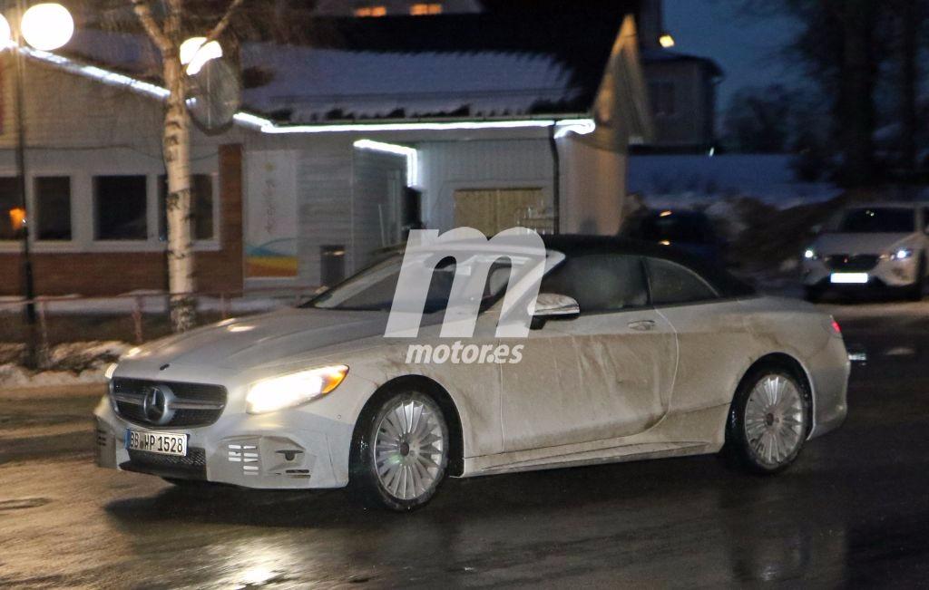 Mercedes Clase S Cabrio 2017: fotos espía del «facelift» que está en camino