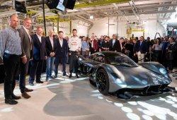 Aston Martin AM-RB001: en vídeo por primera vez en un salón