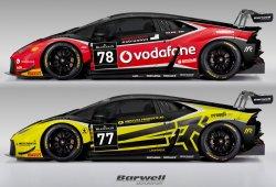 Barwell y Ombra reafirman su apuesta por el Huracán GT3