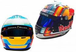 Los cascos de los pilotos de Fórmula 1 para 2017