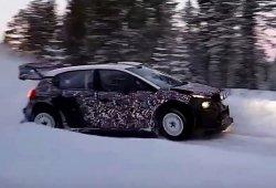 Citroën y M-Sport arrancan sus test del Rally de Suecia