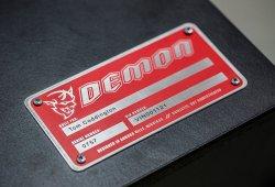 Dodge Demon: Su potencia final podría ser de 767 caballos