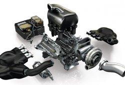 El nuevo motor Renault, diseñado especialmente para acoplarse al RS17