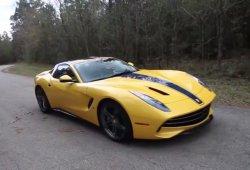 Los raros y destacables Ferrari amarillos: el único F60 America amarillo que existe