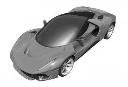 Ferrari registra una extraña versión recarrozada del LaFerrari