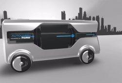 Ford Autolivery Concept: imaginando las furgonetas eléctricas y autónomas del futuro