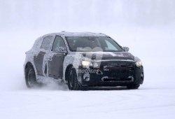 Ford Focus 2018: cazado de nuevo en la nieve