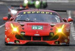 Fisichella y Vilander con Risi Competizione en Le Mans