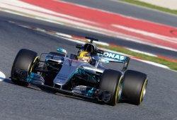 """Hamilton: """"El Mercedes parece mil veces mejor que los demás"""""""