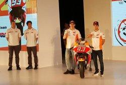 Honda presenta su nueva RC213V de MotoGP en Yakarta