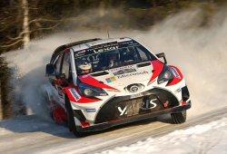 Jari-Matti Latvala gana con el Toyota Yaris el Rally de Suecia