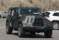 Jeep Wrangler 2018: con menos camuflaje próximo a su presentación
