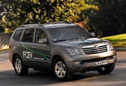 Kia lanzará un nuevo coche de pila de combustible de hidrógeno en el 2021