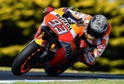 Marc Márquez comienza al frente del test MotoGP de Phillip Island