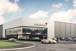 McLaren inaugura una nueva fábrica de bastidores de carbono en Sheffield