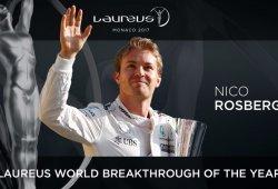 Nico Rosberg gana el Laureus a la Irrupción Mundial de 2016