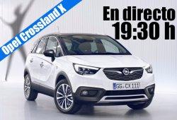 Presentación en directo del Opel Crossland X desde Berlín