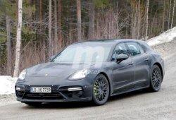 El Porsche Panamera Shooting Brake 2017 sigue perdiendo camuflaje