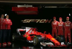 Ferrari desvela un nuevo SF70H con mucha personalidad