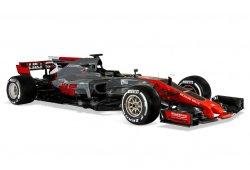 Haas muestra de forma oficial el nuevo VF-17