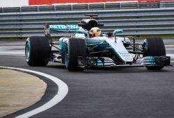 El espectacular Mercedes W08 es presentado en Silverstone