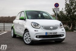 Prueba Smart Forfour Electric Drive, urbano, social, práctico y eléctrico