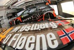 Soso shakedown del Rally de Suecia con Ostberg al frente