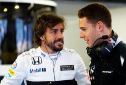 """Vandoorne: """"El objetivo es impulsar a McLaren, no puedo centrarme sólo en Alonso"""""""
