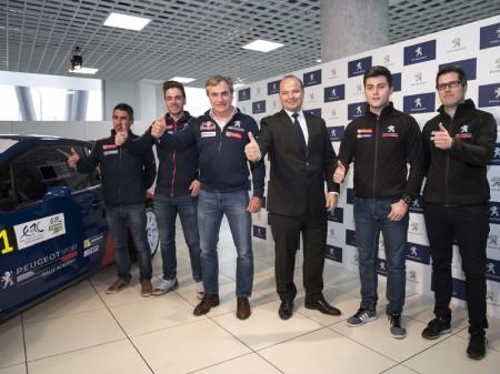 Peugeot España Racing Team presenta su proyecto de 2017