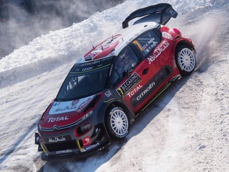 El éxito de Citroën en el Rally de Suecia depende de la nieve