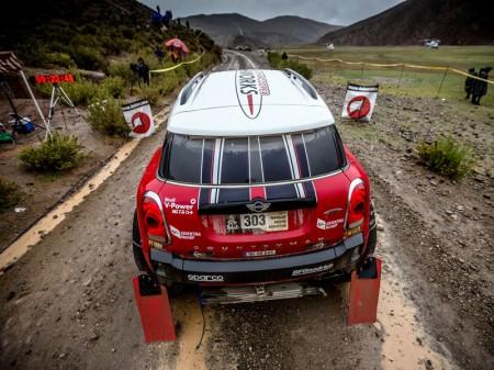 Motores turbo de gasolina para los 4x4 T1 del Dakar