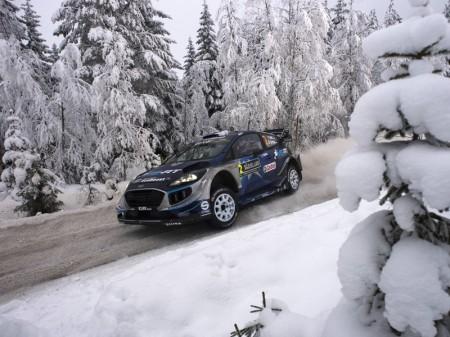 Ott Tänak pone un poco de picante al Rally de Suecia